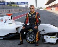 Raikkonen tests GP3 car in Spain