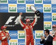 Raikkonen happy after securing Ferrari return