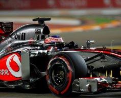 Points for McLaren after podium gamble fails
