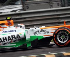 Di Resta 'caught out' on opening lap, reprimanded
