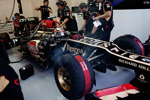 Kimi Raikkonen Singapore GP 2013