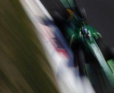 Van der Garde edged out after pit stop error