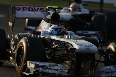Williams has scored just one point in 2013. Williams F1 Team