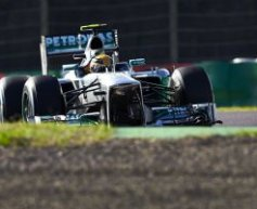Hamilton happy with third place