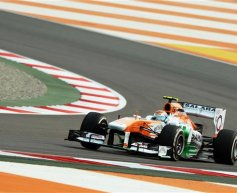 Midfield grid slots satisfy Force India drivers