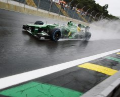 Caterham duo hoping for more rain
