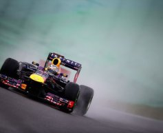 Vettel secures pole position in delayed Brazilian GP qualifying