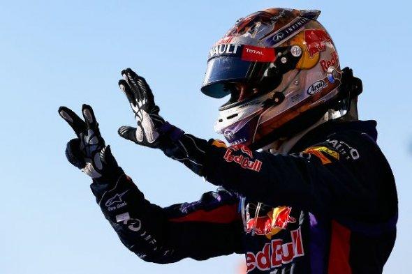 Vettel eight