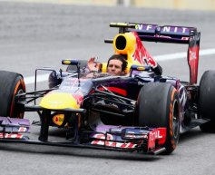 Emotional Webber bows out with podium