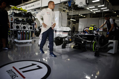 Bottas used #17 in 2013 but switches to #77 for the future. Williams F1 Team