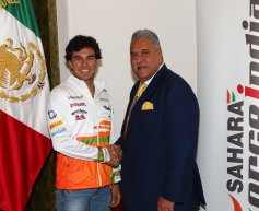 Force India confirms Sergio Perez on multi-year deal