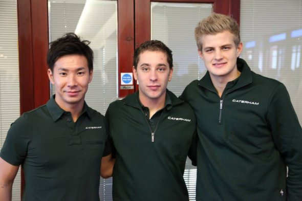 Kobayashi and Ericsson join Caterham. Caterham F1 Team