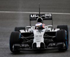 Button tops day two as Mercedes rack up miles