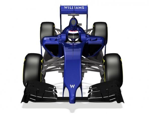 F1 cars will look like this in 2014. Williams F1 Team