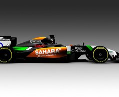 Force India reveals first image of 'fierce' VJM07