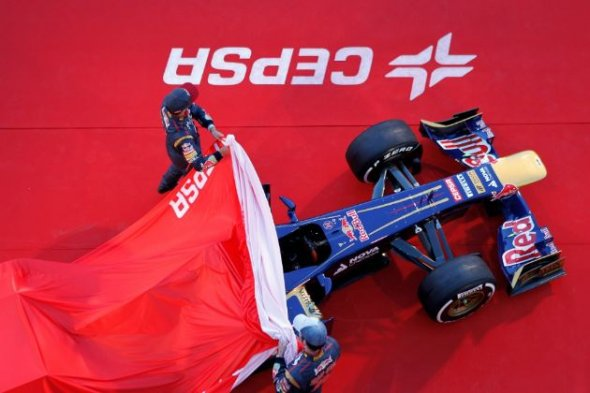 Toro Rosso will unveil their STR9 next Monday. Red Bull/Getty Images
