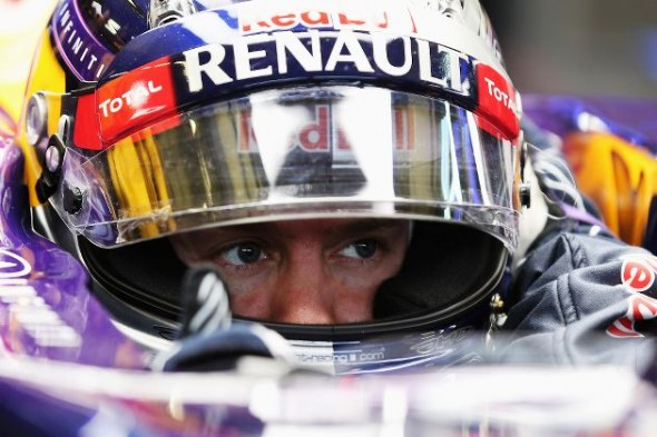 Sebastian Vettel managed only eight laps. Red Bull/Getty Images