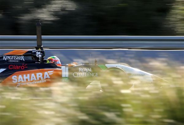 Perez needs to rebuild after a difficult 2013. Sahara Force India