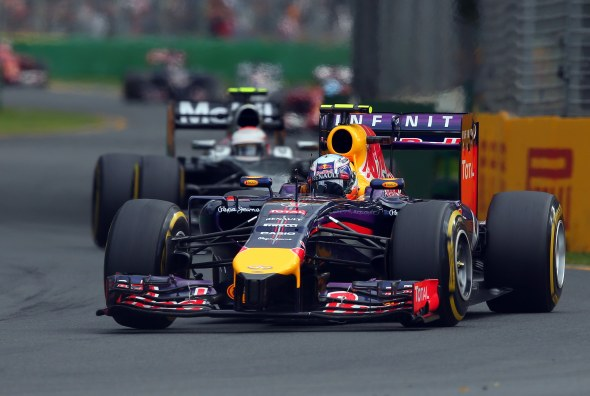 Ricciardo was disqualified. Red Bull/Getty Images