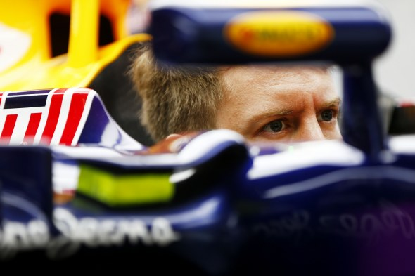 Vettel is currently in fifth in the championship. Red Bull/Getty Images