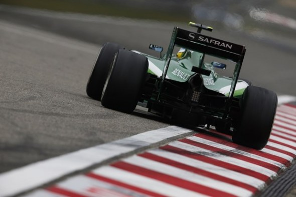 Ericsson has had a tougher time. Caterham F1 Team