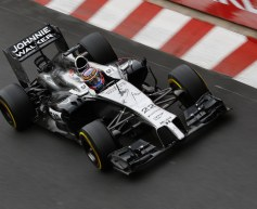 Button fears tough, processional race
