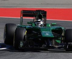 Caterham plagued by problems in Germany