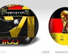 FIFA 'wants to ban' Rosberg's world cup helmet