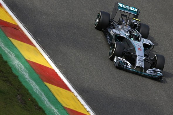 Mercedes AMG Petronas. File Photo.