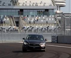 Vettel completes lap of Sochi circuit