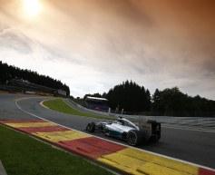 Hamilton moves ahead in second practice