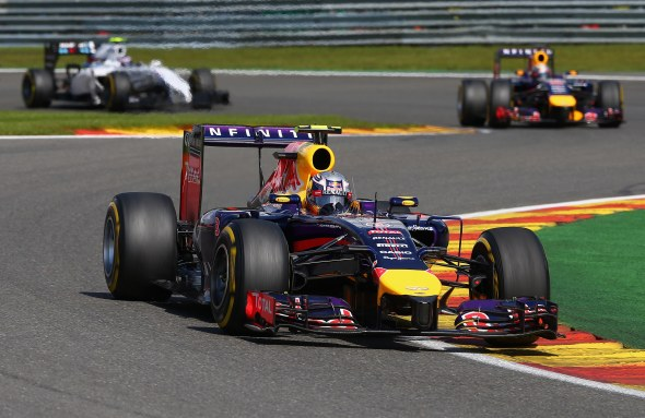 Ricciardo has been picking up the pieces in 2014. Red Bull/Getty Images