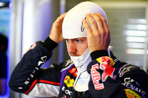 Vettel tired after dominant run in F1 says Horner