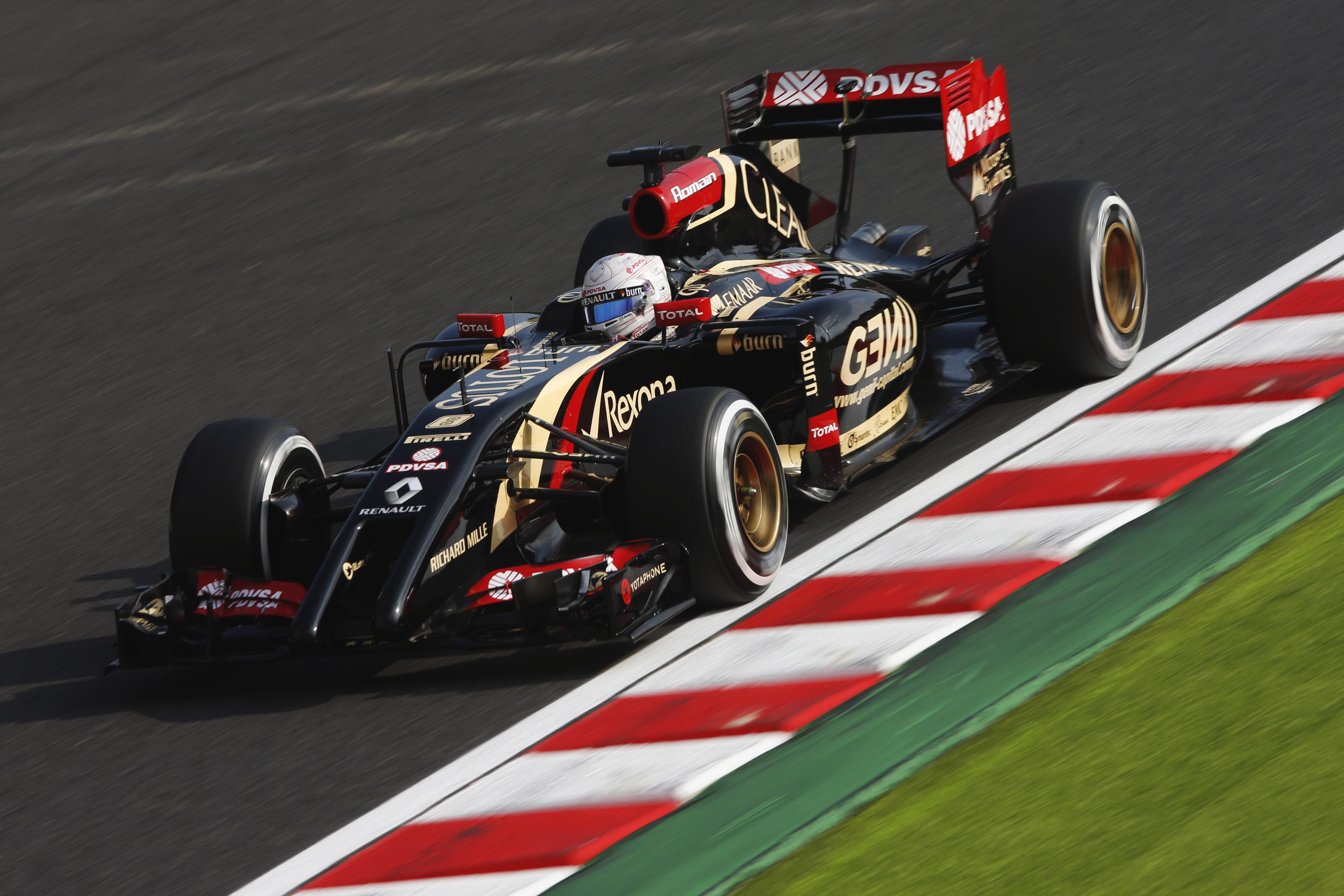 Suzuka Circuit, Suzuka, Japan. Friday 3 October 2014. Romain ...