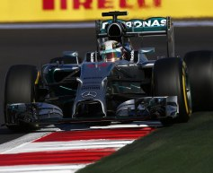 Hamilton takes Russia win to clinch title for Mercedes
