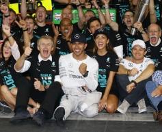 Hamilton hails second world title