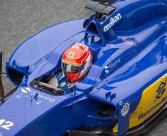 Nasr upbeat after Sauber test debut