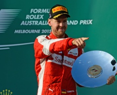 Vettel upbeat over 'most improved' Ferrari