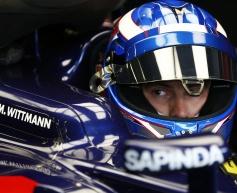 Wittmann hails 'amazing' Formula 1 outing