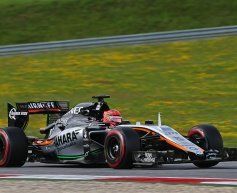 Ocon pleased by 'mega' test day