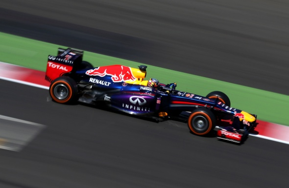 Impressive first F1 test came with Red Bull mid-2013. Red Bull/Getty Images
