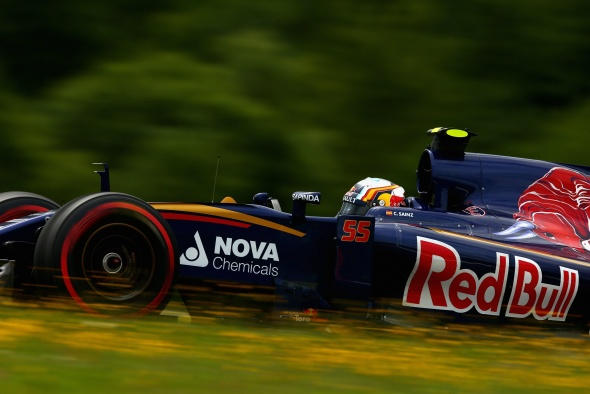 Sainz Jr. has been making steady progress. Red Bull/Getty Images