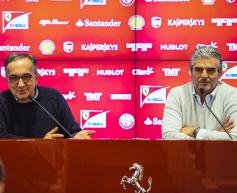 Marchionne hails Ferrari's 2015 progress