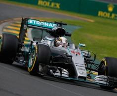 Hamilton heads Friday running in Australia
