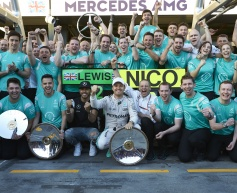 Rosberg takes victory at Australian GP