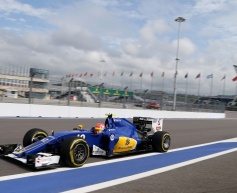 Nasr happier with new chassis after practice