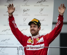 Vettel encouraged by Ferrari recovery
