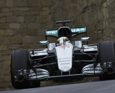 Hamilton leads final Baku practice session