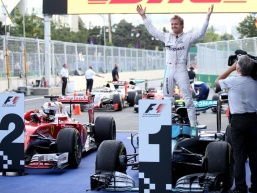 Rosberg cruises to European GP victory