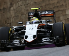 Force India optimistic after strong practice sessions